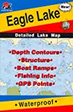 Search : Fishing Hot Spots Map of Eagle Lake