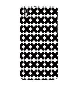 EPICCASE interlocks Mobile Back Case Cover For HTC Desire 816 (Designer Case)