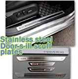 Door sill scuff plate For GOLF 4 VW GOLF6 MK6 GTI 2009 2010 2011 2012