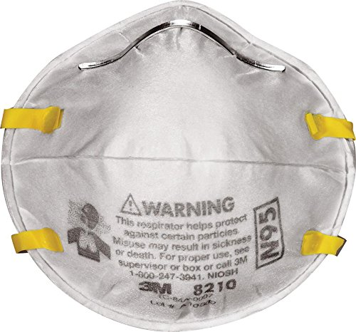 3M Dust Respirators 8210 Plus, N95, 20-Pack (Vapor Paper compare prices)