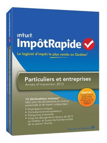 INTUIT IMPOTRAPIDE BUS. PARTICULIERS ET ENTRPRISES TY13 [OLD VERSION]