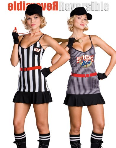 Double Play Sports Reversable Hallween Costume