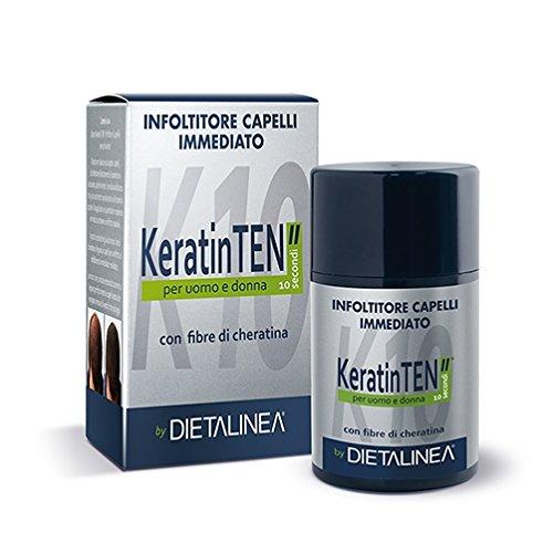 Dietalinea Keratin Ten Infoltitore Capelli Immediato N°6 Grigio 12 g