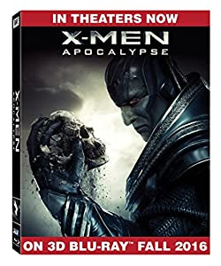 X-Men: Apocalypse [3D Blu-ray] from 20th Century Fox