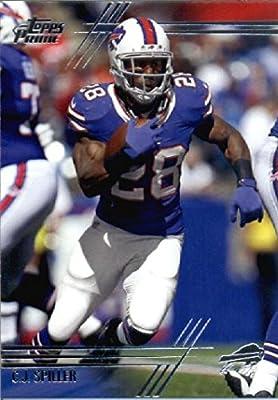 2014 Topps Prime Football Card # 99 C.J. Spiller Buffalo Bills