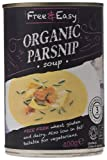 Free and Easy Organic Parsnip Soup 400 g (Pack of 6)