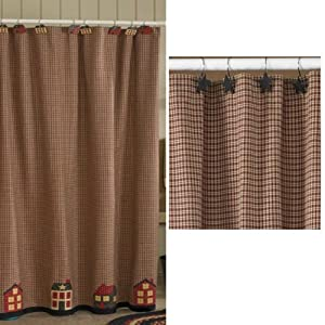 Home Place Shower Curtain Primitive