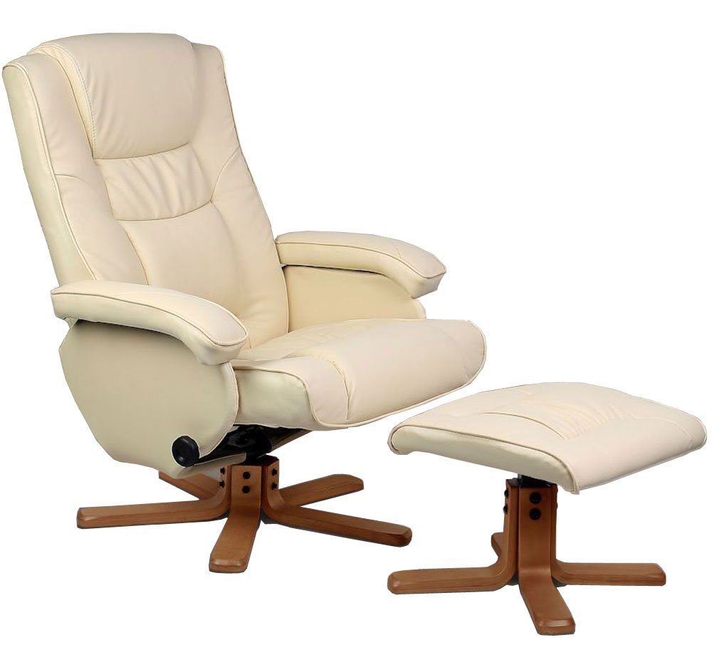 Birlea Nevada Swivel Chair Cream Leather       review and more information