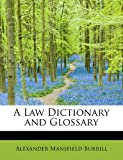 img - for A Law Dictionary and Glossary, Volume II book / textbook / text book