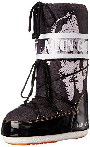Tecnica Women's Moon Astronaut Winter Fashion Boot, Black, 38 EU/6-7.5 M US