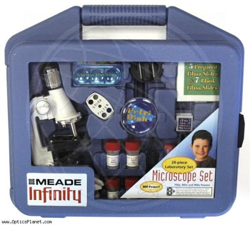 Meade 28-pc. Microscope Kit- White - Buy Meade 28-pc. Microscope Kit- White - Purchase Meade 28-pc. Microscope Kit- White (Mead Products, Toys & Games,Categories,Learning & Education,Science,Microscopes)