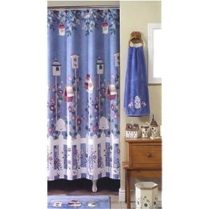 Shopzilla - Birdhouse shower curtain Outdoor Decor