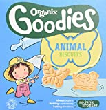 Organix Goodies From 12 Months Organic Animal Biscuits 100 g (Pack of 10)