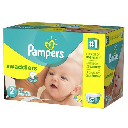 Pampers Swaddlers Wetness Indicator