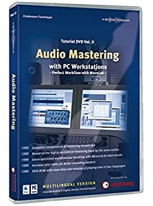 Audio Mastering Tutorial DVD Vol. II: Audio Mastering with PC Workstations - Perfect Workflow with WaveLab
