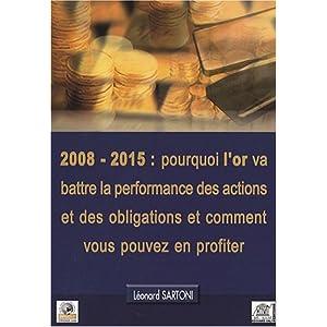 livre pour l or
