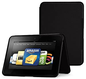 "Amazon.com: Amazon Kindle Fire HD 8.9"" Standing Leather Case, Onyx Black (will not fit HDX models): Kindle Store"