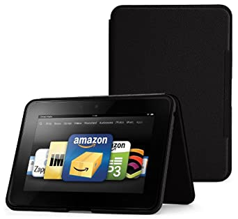"""Amazon Kindle Fire HD 8.9"""" Standing Leather Case, Onyx Black (will not fit HDX models)"""