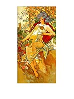 Artopweb Panel Decorativo Mucha Autumn Multicolor