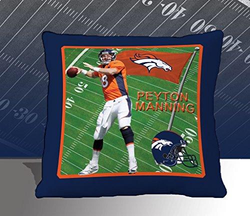 Nfl Biggshots Bedding - Denver Broncos Peyton Manning Toss Pillow, 18-Inch front-419022