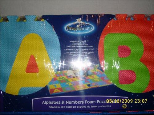 Numbers Foam Imaginarium Alphabet Amp Numerals 36 Ft Foam