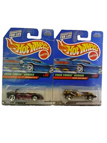 Mattel Hot Wheels 1998 Tech Tones Series #'s 2 & 3 (Out of 4) - 1
