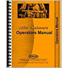 New Allis Chalmers 460 Motor Scraper Diesel Operator's Manual