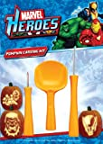 PMG Marvel Comics Pumpkin Carving Kit, 3 Carving Tools, 7 Stencil Patterns