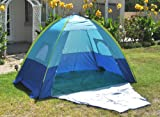 Adult's UV Protection Cabana Camp Shelter Tent w/ Carry Bag