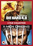 X-Men Origins: Wolverine / Die Hard 4.0 [DVD]