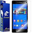ArmorSuit MilitaryShield - Sony Xperia Z3V Screen Protector Anti-Bubble Ultra HD - Extreme Clarity & Touch Responsive Shield with Lifetime Free Replacements