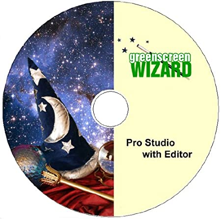 Green Screen Wizard Pro Studio with Editor