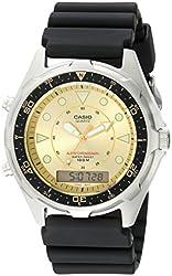Casio Men's Ana-Digi Alarm Chronograph Dive Watch