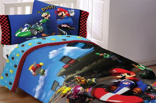 Why Should You Buy Super Mario The Race Is On Sheet Set, Twin