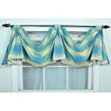 Metro Shop Duncaster Porcelain Celebration Window Valance