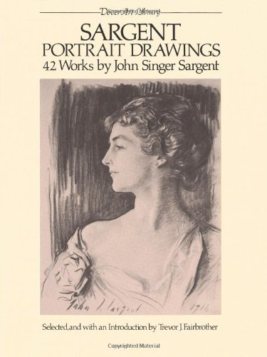 Portrait Drawings (Dover Art Library)