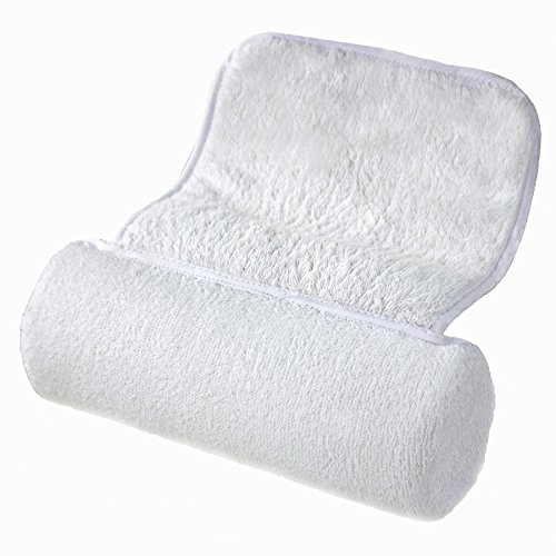 Bath Pillow Head Shoulders Neck Cushioned Support Soft