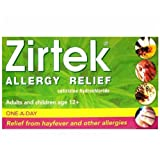 Zirtek Allergy Tablets 21 [Personal Care] [Personal Care]