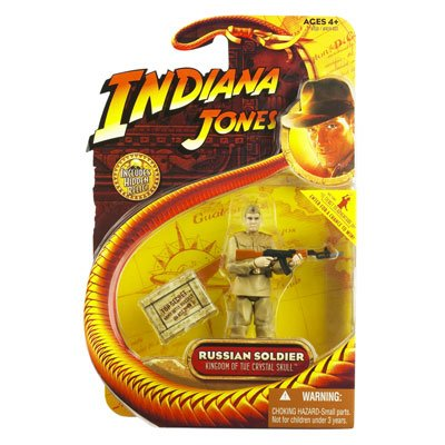 Indiana Jones Kingdom of the Crystal Skull Russian Soldier Action Figure - 1