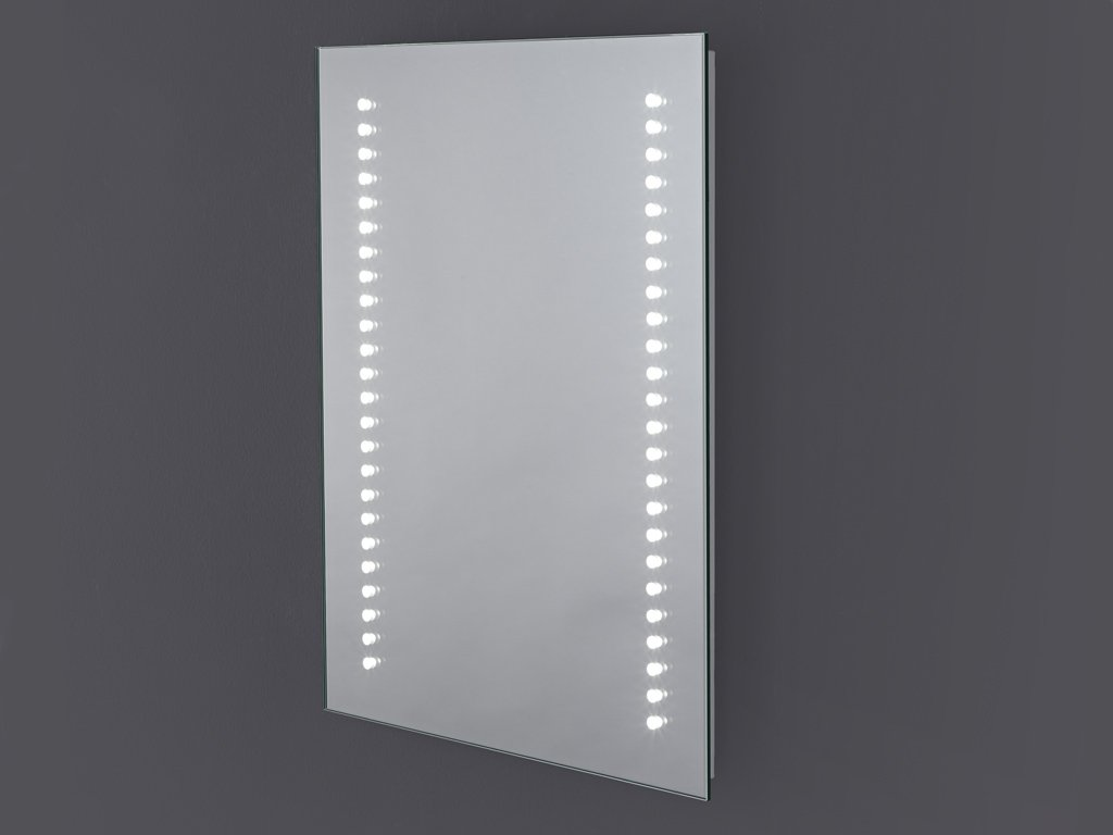 Aster LED Illuminated Battery Mirror for Bathroom 390mm x 500mm  NEXT DAY DELIVERY       Customer reviews and more information