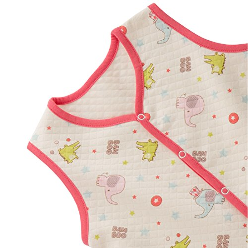 Organic Baby Clothes Vest 2t Ivory & Red Apparel