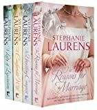 Stephanie Laurens Stephanie Laurens Collection 4 books Set (Stephanie Laurens Collection) (A Comfortable Wife, A Lady Of Expectations, An Unwilling Conquest and The Reasons for Marriage)