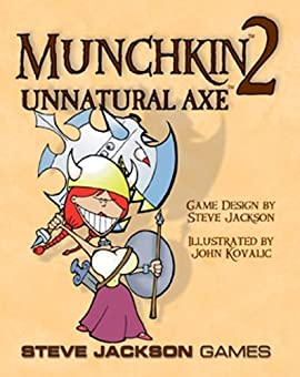 Munchkin 2 Unnatural Axe Revised Edition