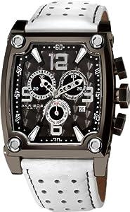 Akribos+XXIV Akribos XXIV Men's AK415WT Conqueror Swiss Quartz White Chronograph Watch