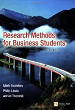 Research Methods for Business Students by Mark