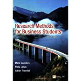 Research Methods for Business Studentsby Mark Saunders