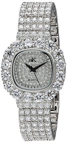 Adee Kaye Bijou ak26-L/CR 32.5x38.7mm Brass Case Brass Mineral Women's Watch