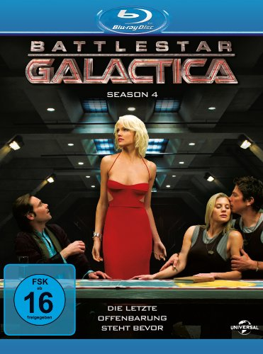Battlestar Galactica - Season 4 [Blu-ray]