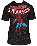 Men's Marvel Comics Spider-man Amazing Spiderman Big Print Subway T-shirt