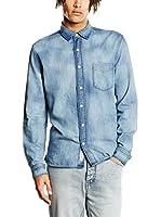 Cheap Monday Camisa Hombre (Azul)